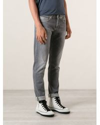 Dondup Stone Washed Jeans - Lyst