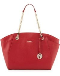 Furla Julia East-West Leather Tote Bag - Lyst