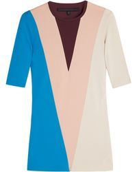 Victoria Beckham Marching Colour Blocked Top - Lyst
