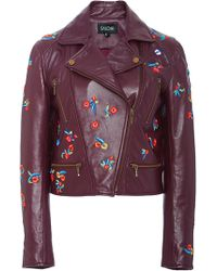 Saloni - Mimi Moto Jacket - Lyst
