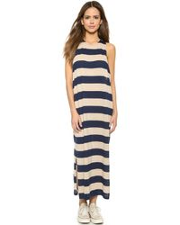 Cheap Monday Ring Dress Stripe - Nude/Indigo - Lyst