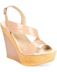 Callisto Standard Wedge Sandals - Lyst