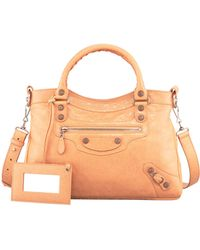 Balenciaga Giant 12 Rose Golden Town Bag Rose Blush - Lyst