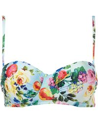 Seafolly Summer Garden Bustier Bikini Top - Lyst