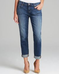 Eileen Fisher - Boyfriend Jeans In Aged Indigo - The Fisher Project - Lyst