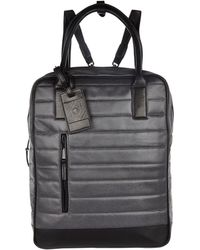 River Island Grey Design Forum Coated Backpack - Lyst