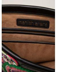 Manish Arora Heart Embroidered Clutch - Lyst