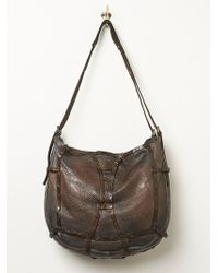 Free People Leather Harness Hobo - Lyst
