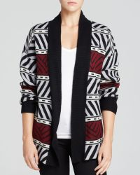 Sanctuary - Graphic Pattern Cardigan - Lyst