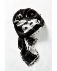 Urban Outfitters - No Bad Days Brushed Blanket Scarf - Lyst