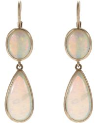 Anaconda - Double-drop Earrings - Lyst