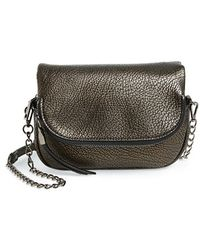 Phase 3 - 'small' Flap Crossbody Bag - Metallic - Lyst