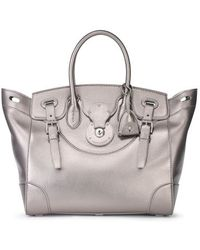 Ralph Lauren Metallic Soft Ricky Bag - Lyst