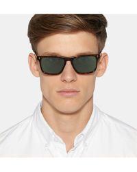 Kingsman - + Cutler And Gross Square-frame Tortoiseshell Acetate Sunglasses - Lyst