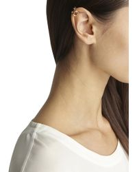 MFP MariaFrancescaPepe - 23Kt Gold Plated Swarovski Ear Cuff - Lyst