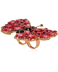 Halaby - Butterfly Ring - Lyst