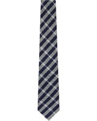 Turnbull & Asser Printed Silk Tie - For Men blue - Lyst