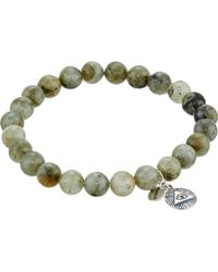 Chan Luu - 7 1/2' Labradorite Stretchy Single Bracelet - Lyst