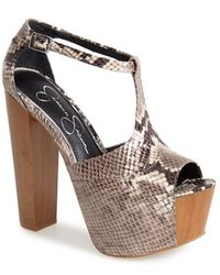 Jessica Simpson Dany Sandals - Lyst