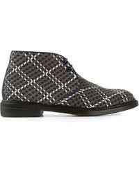 Weber Hodel Feder - Woven Desert Boots - Lyst