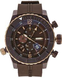 Brera Orologi - Brdvc4705 Brown & Rose Gold-Tone Watch - Lyst