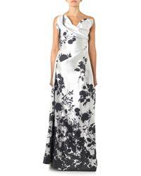 Vivienne Westwood Gold Label Trinket Floral-Jacquard Gown gray - Lyst