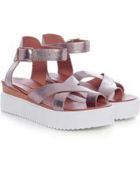 Inuovo - Multi Strap Sandals - Lyst