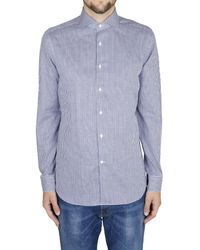 Corneliani B Cotton Shirt - Lyst