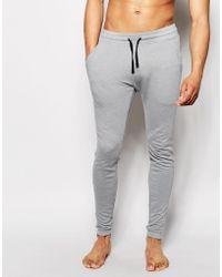 ASOS - Loungewear Super Skinny Joggers - Lyst