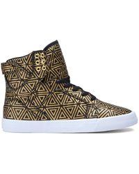 Supra The Skytop Sneaker - Lyst