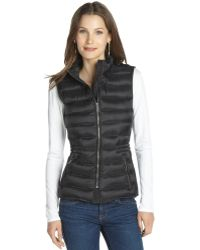 Burberry Black Nylon Quilted Vest - Lyst