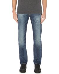7 For All Mankind The Straight Regular-Fit Jeans - For Men - Lyst