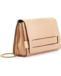 Chloé Elle Large Clutch Bag with Chain Strap - Lyst