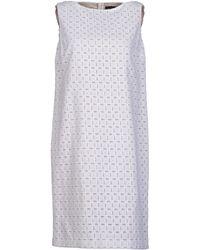 Piazza Sempione Short Dress - Lyst