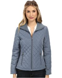Calvin Klein Knit Collar Quilted Jacket Cw426795 - Lyst