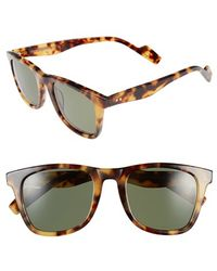 Crimson Visual - 'woodbridge' 54mm Polarized Sunglasses - Havana Tortoise - Lyst