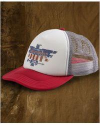 29cabba6acf Denim   Supply Ralph Lauren - Foam Logo Trucker Hat - Lyst