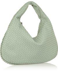 Bottega Veneta Large Veneta Intrecciato Leather Shoulder Bag - Lyst