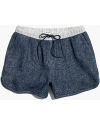 Madewell Pull-On Tryout Shorts - Lyst