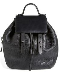 Mackage 'Bane' Convertible Leather Backpack - Lyst