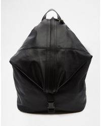 Dark Future - Backpack With Front Zip - Lyst