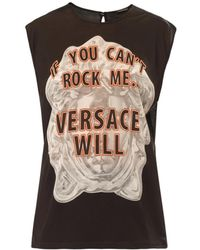 Versace If You Cant Rock Me Tshirt - Lyst
