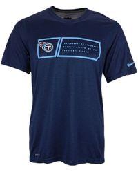 Nike Mens Tennessee Titans Legend Jock Tag T-shirt - Lyst