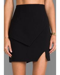 Keepsake Tunnel Vision Skirt in Black - Lyst