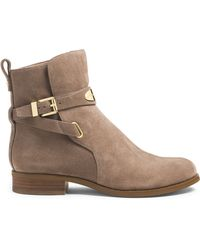 Michael Kors Michael Arley Suede Ankle Boot - Lyst