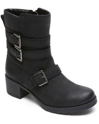 Rockport | City Casuals - Rola Booties | Lyst