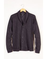 Velvet By Graham & Spencer Ethan Cozy Fleece Shawl Cardigan - Lyst