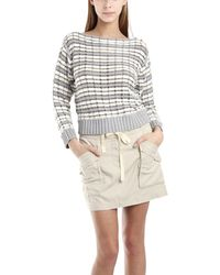 Charlotte Ronson Detailed Pullover Sweater with Studs - Lyst