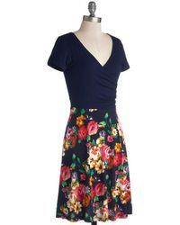 Gilli Inc Botanical Breakfast Dress - Lyst