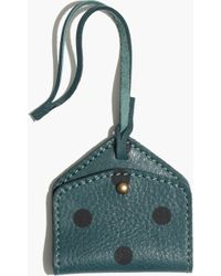 Madewell Luggage Tag in Dot - Lyst